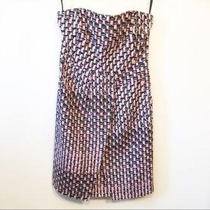 NWT Banana Republic Silk Blend Strapless Dress